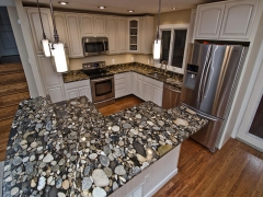 black marinace granite kitchen1