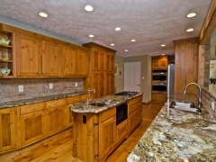 carnivale granite kitchen