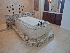 Delicatus granite bathroom