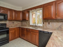 crema bordeaux granite kitchen
