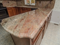 crema bordeaux granite kitchen2